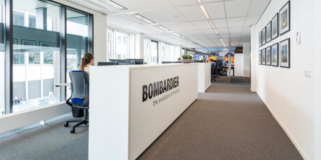 Bombardier in Amsterdam